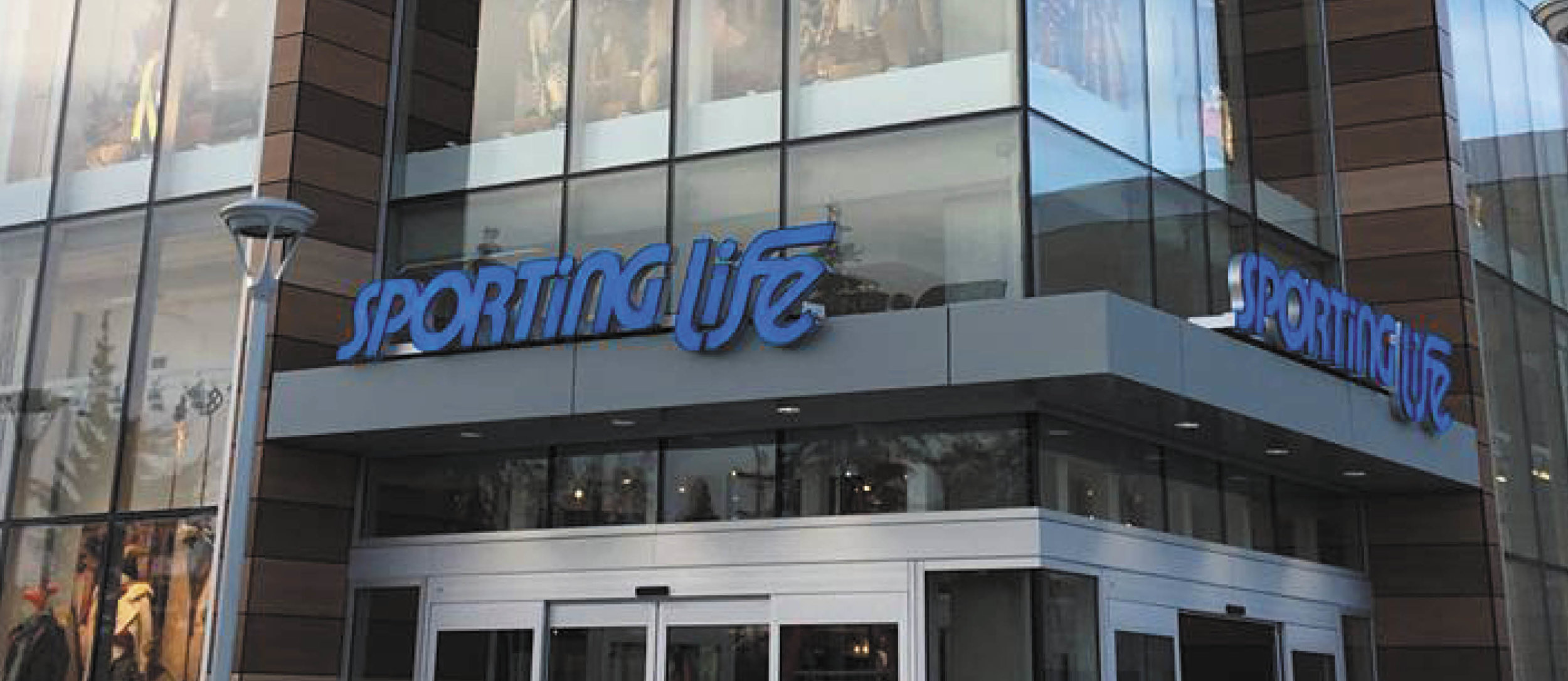 Sporting Life store front