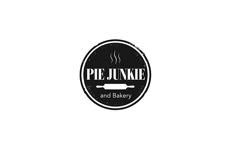 Pie Junkie and Bakery Logo
